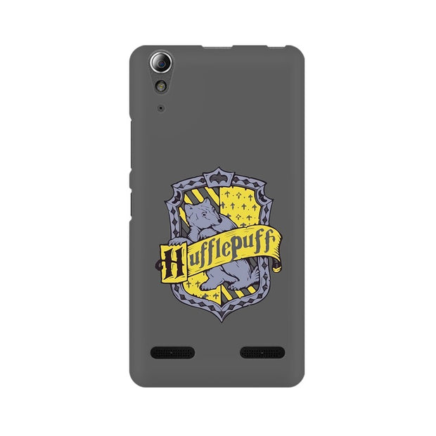 Lenovo A6000 Plus Hufflepuff House Crest Harry Potter Phone Cover & Case