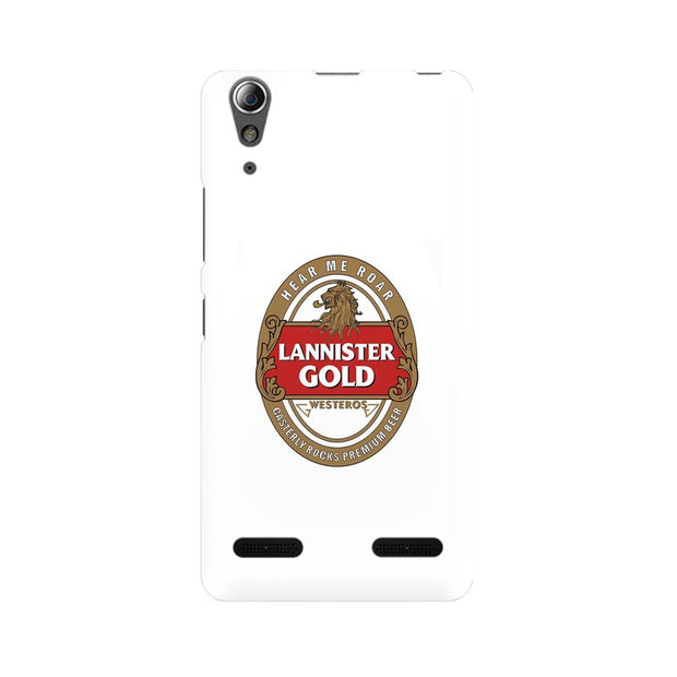 Lenovo A6000 Plus Lannister Gold Game Of Thrones Cool Phone Cover & Case