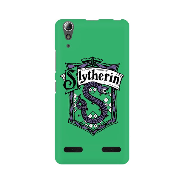 Lenovo A6000 Plus Slytherin House Crest Harry Potter Phone Cover & Case