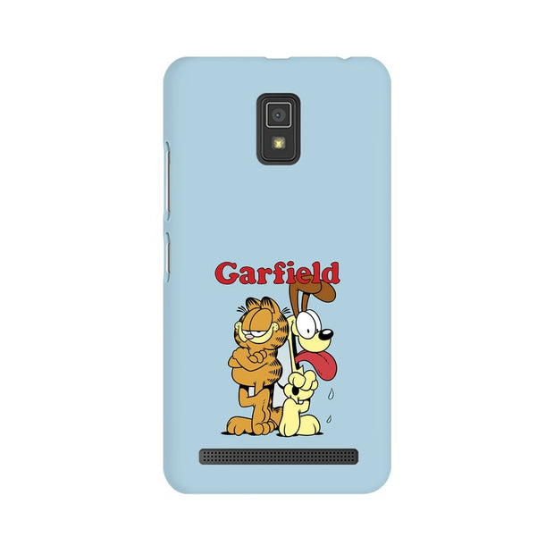Lenovo A6600 Garfield & Odie Phone Cover & Case