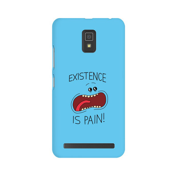 Lenovo A6600 Existence Is Pain Mr Meeseeks Rick & Morty Phone Cover & Case