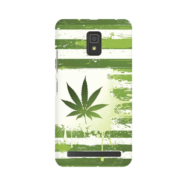 Lenovo A6600 Weed Flag  Phone Cover & Case