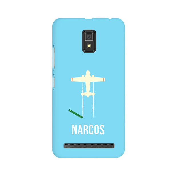 Lenovo A6600 Narcos TV Series  Minimal Fan Art Phone Cover & Case