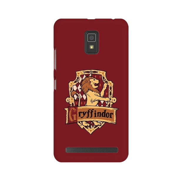Lenovo A6600 Gryffindor House Crest Harry Potter Phone Cover & Case