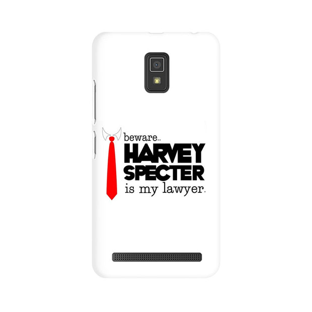 Lenovo A6600 Harvey Spectre Is My Lawyer Suits Phone Cover & Case