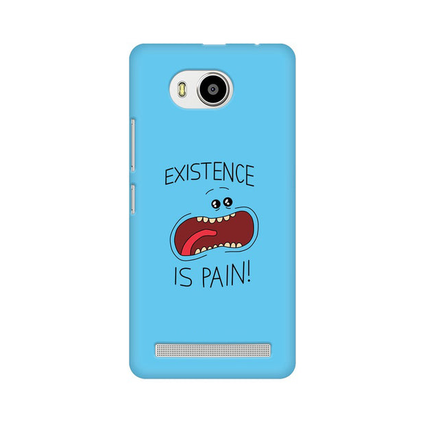 Lenovo A7700 Existence Is Pain Mr Meeseeks Rick & Morty Phone Cover & Case
