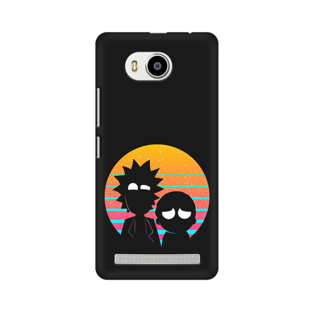 Lenovo A7700 Rick & Morty Outline Minimal Phone Cover & Case