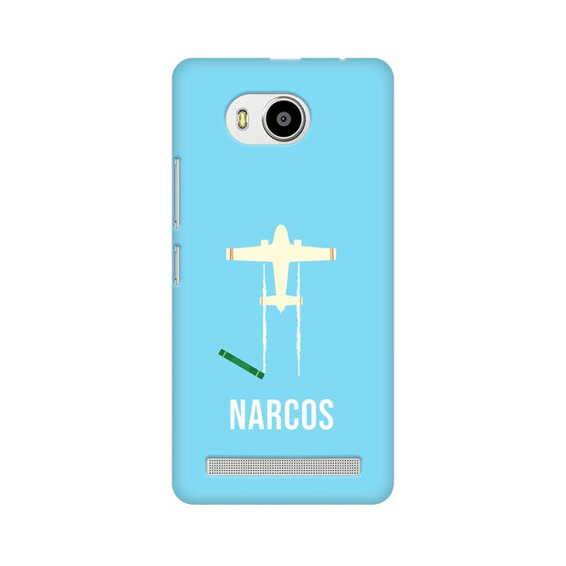 Lenovo A7700 Narcos TV Series  Minimal Fan Art Phone Cover & Case