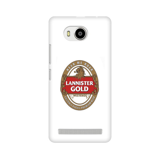 Lenovo A7700 Lannister Gold Game Of Thrones Cool Phone Cover & Case