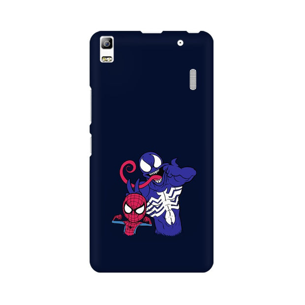 Lenovo K3 Note Spider Man & Venom Funny Phone Cover & Case