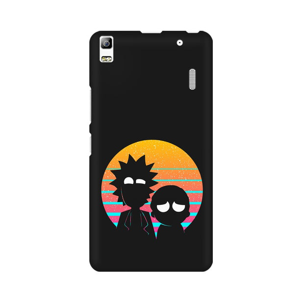 Lenovo K3 Note Rick & Morty Outline Minimal Phone Cover & Case