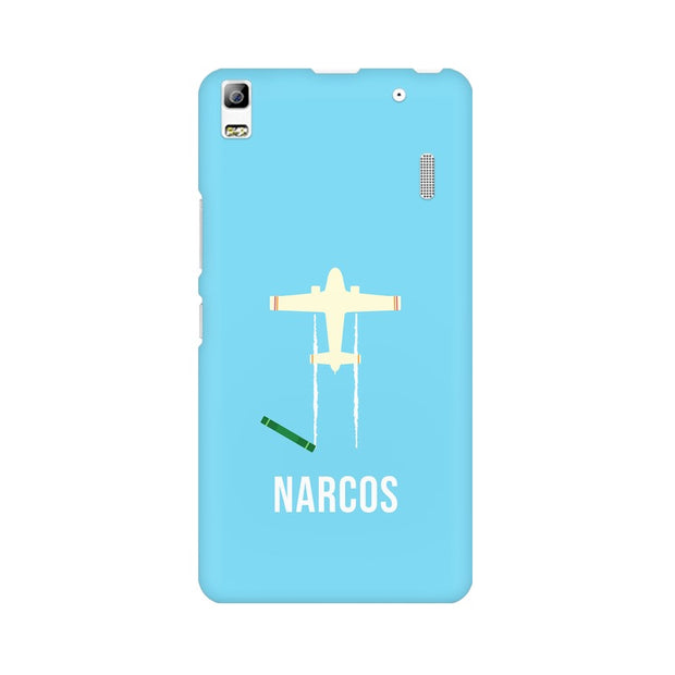 Lenovo K3 Note Narcos TV Series  Minimal Fan Art Phone Cover & Case