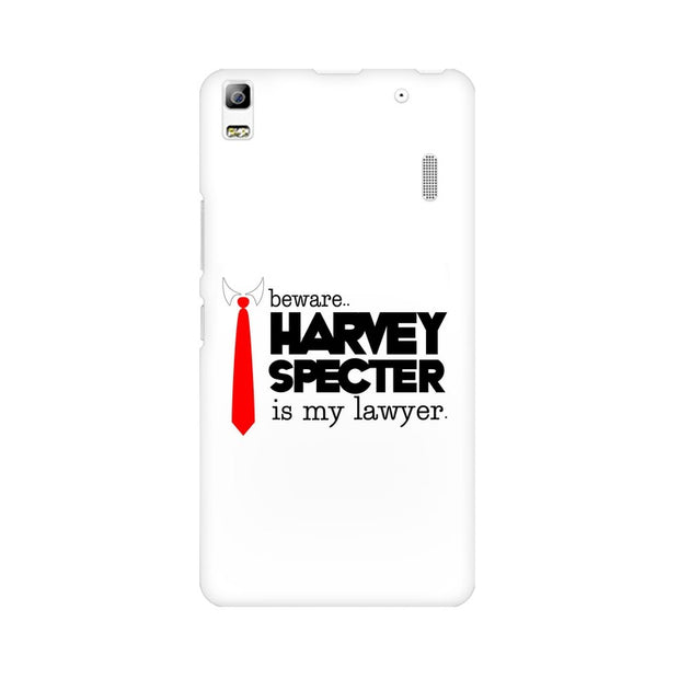 Lenovo K3 Note Harvey Spectre Is My Lawyer Suits Phone Cover & Case