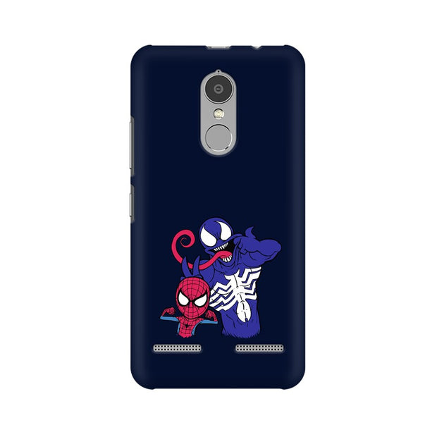 Lenovo K6 Power Spider Man & Venom Funny Phone Cover & Case