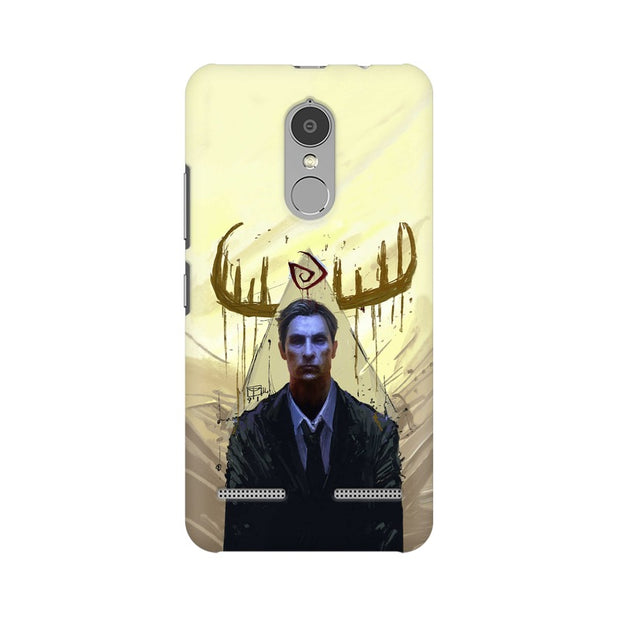 Lenovo K6 Power True Detective Rustin Fan Art Phone Cover & Case