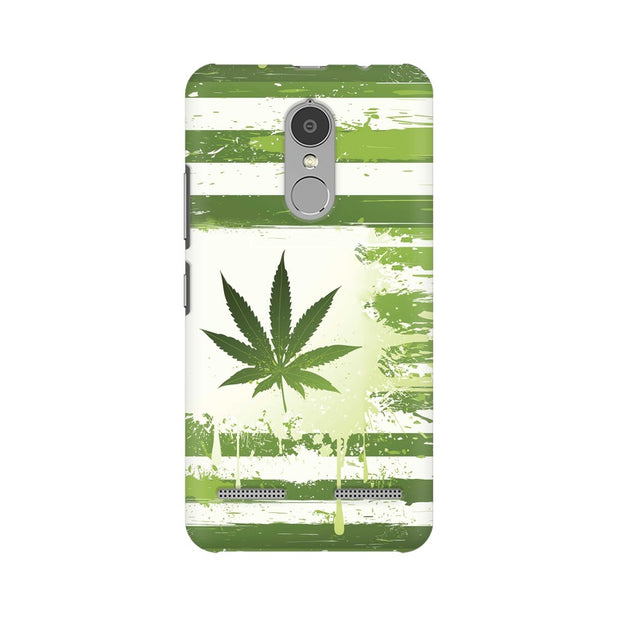 Lenovo K6 Power Weed Flag  Phone Cover & Case