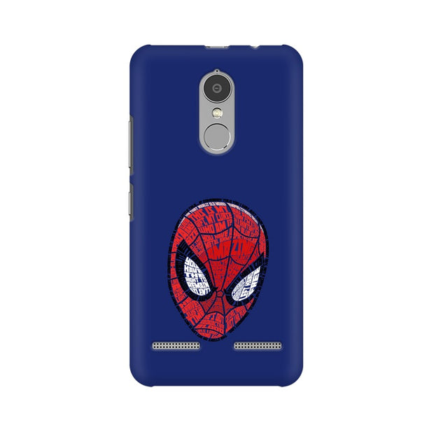 Lenovo K6 Power Spider Man Graphic Fan Art Phone Cover & Case