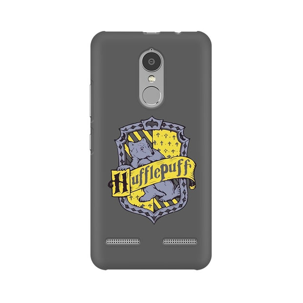 Lenovo K6 Power Hufflepuff House Crest Harry Potter Phone Cover & Case