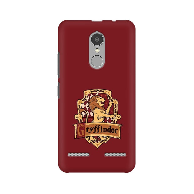 Lenovo K6 Power Gryffindor House Crest Harry Potter Phone Cover & Case