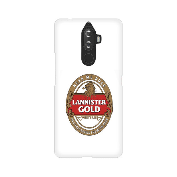 Lenovo K8 Note Lannister Gold Game Of Thrones Cool Phone Cover & Case