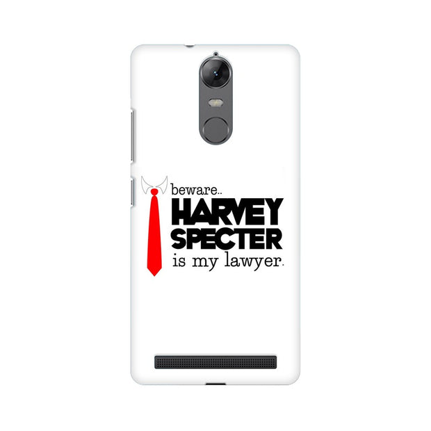Lenovo Vibe K5 Note Harvey Spectre Is My Lawyer Suits Phone Cover & Case