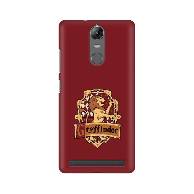Lenovo Vibe K5 Note Gryffindor House Crest Harry Potter Phone Cover & Case