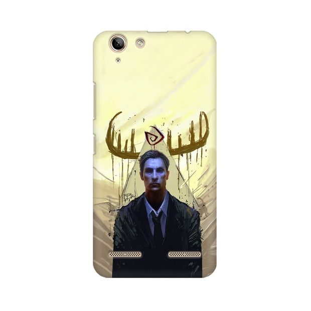 Lenovo Vibe K5 True Detective Rustin Fan Art Phone Cover & Case