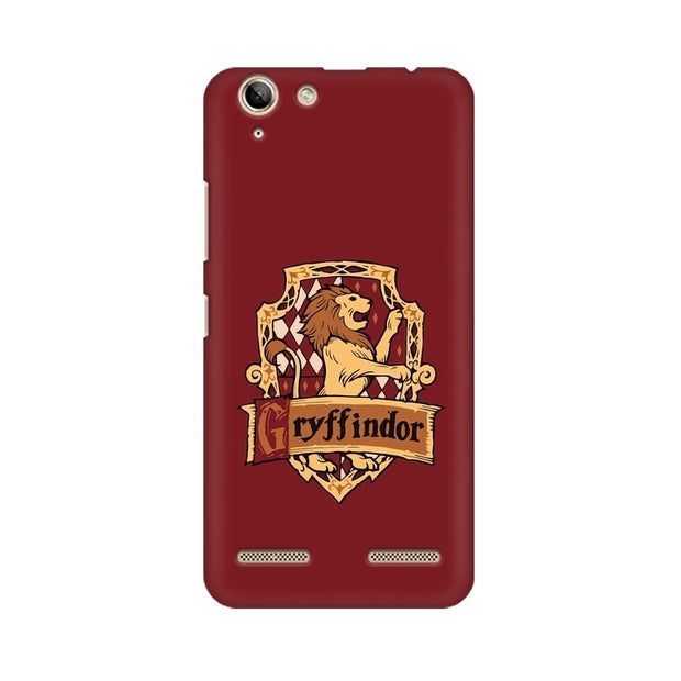 Lenovo Vibe K5 Gryffindor House Crest Harry Potter Phone Cover & Case