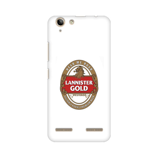 Lenovo Vibe K5 Lannister Gold Game Of Thrones Cool Phone Cover & Case