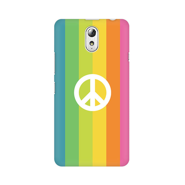 Lenovo Vibe P1M Colorful Peace Phone Cover & Case