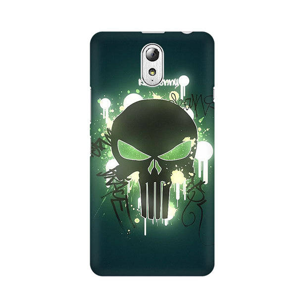 Lenovo Vibe P1M Angry Skull Phone Cover & Case