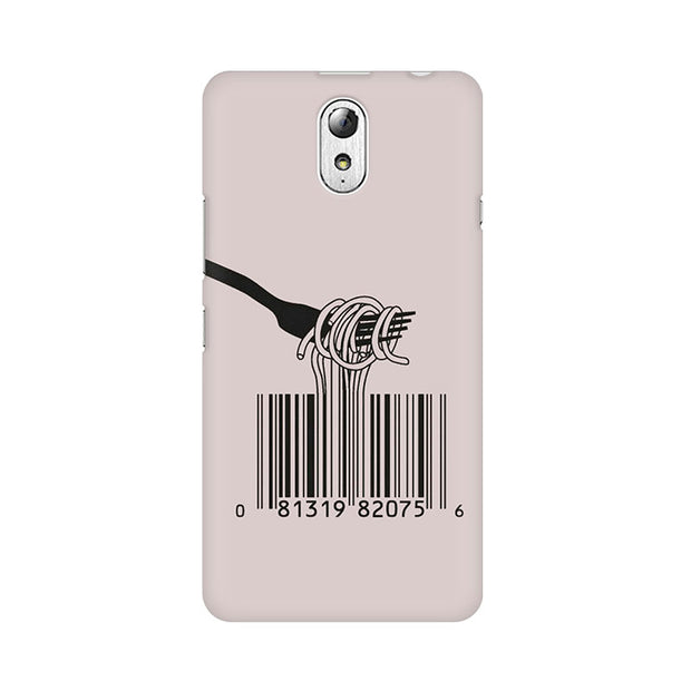 Lenovo Vibe P1M Barcode Noodels Phone Cover & Case