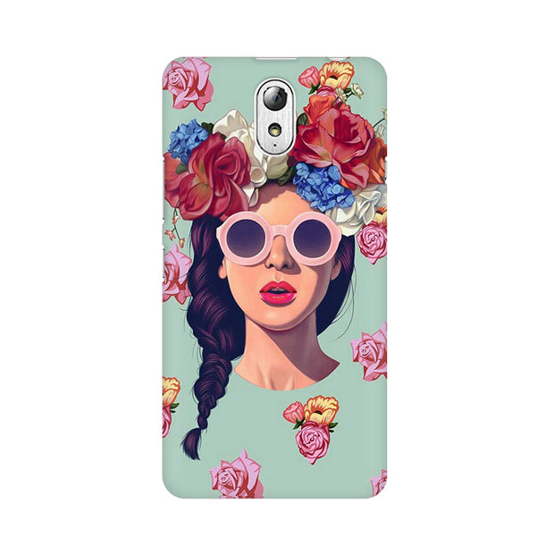 Lenovo Vibe P1M Floral Girl Phone Cover & Case