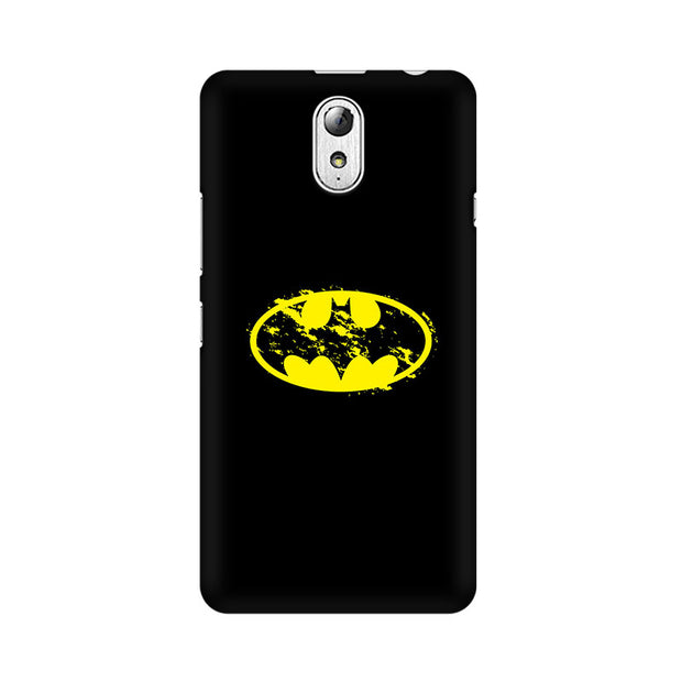 Lenovo Vibe P1M Flourished Yellow Batman Phone Cover & Case