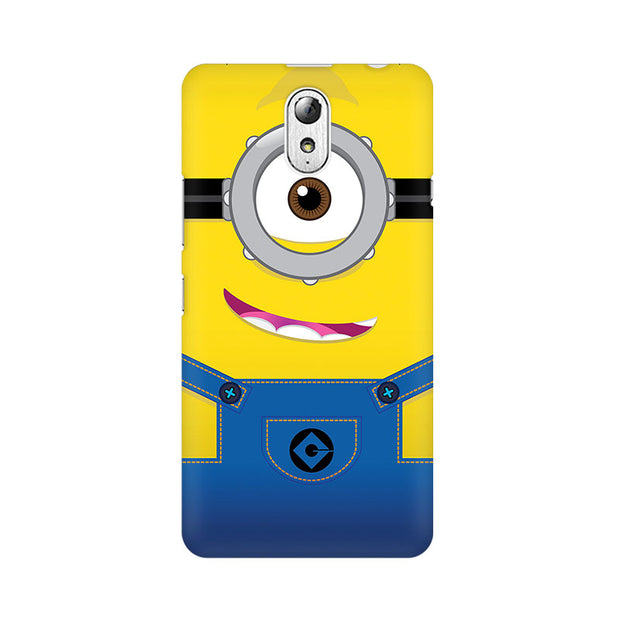 Lenovo Vibe P1M Smiley Minion Phone Cover & Case