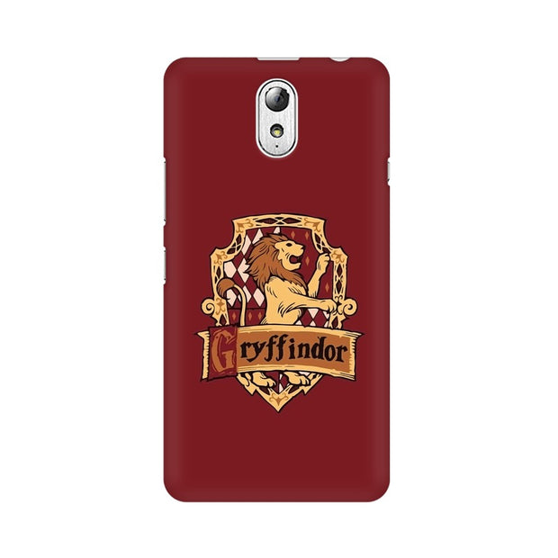 Lenovo Vibe P1M Gryffindor House Crest Harry Potter Phone Cover & Case