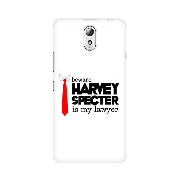 Lenovo Vibe P1M Harvey Spectre Is My Lawyer Suits Phone Cover & Case