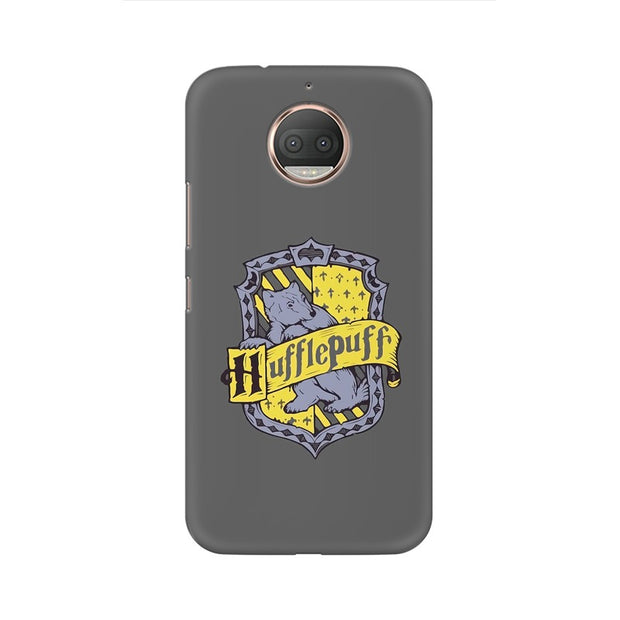 Moto E4 Plus Hufflepuff House Crest Harry Potter Phone Cover & Case