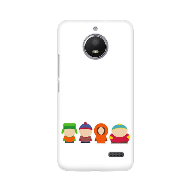 Moto E4 South Park Minimal Phone Cover & Case