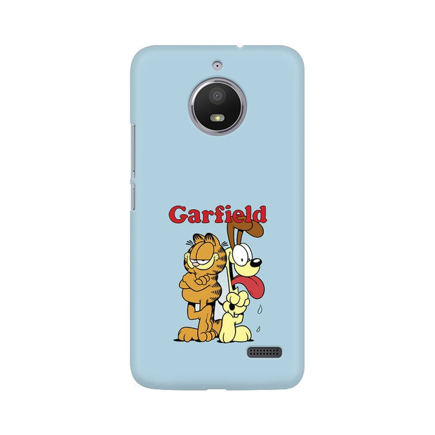 Moto E4 Garfield & Odie Phone Cover & Case