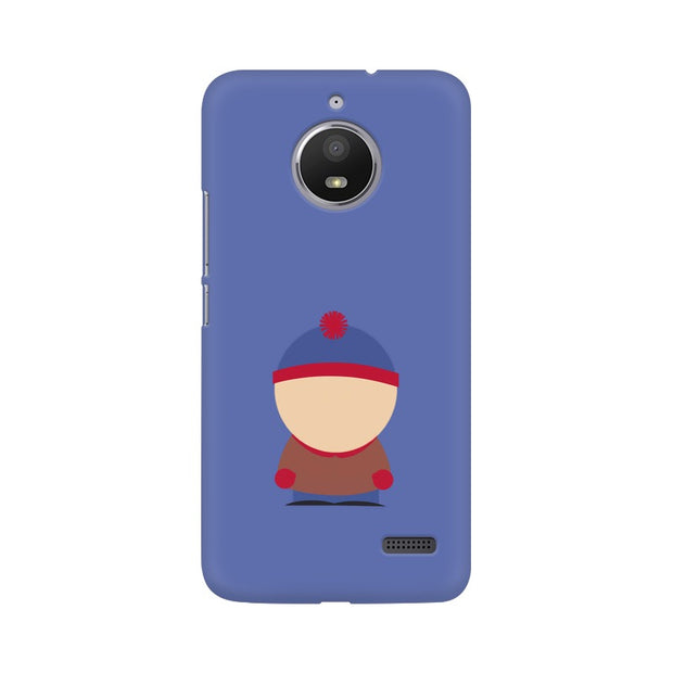 Moto E4 Stan Marsh Minimal South Park Phone Cover & Case
