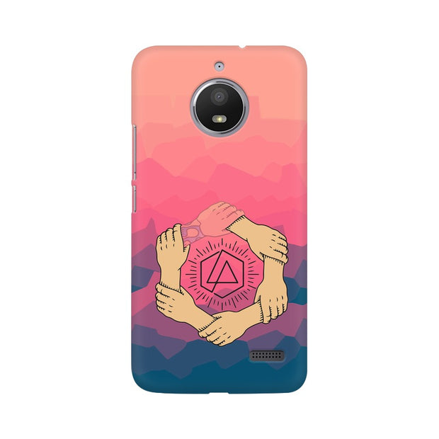 Moto E4 Linkin Park Logo Chester Tribute Phone Cover & Case