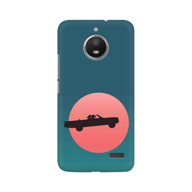 Moto E4 Thelma & Louise Movie Minimal Phone Cover & Case