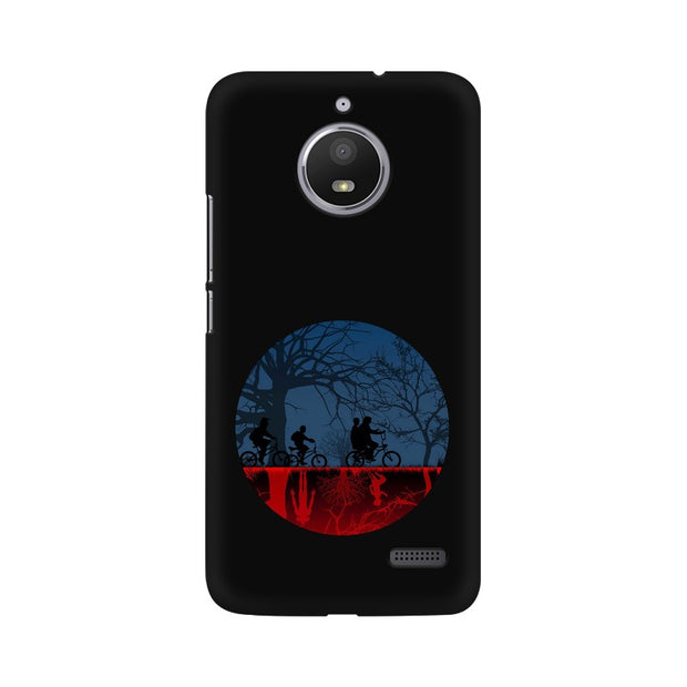 Moto E4 Stranger Things Fan Art Phone Cover & Case