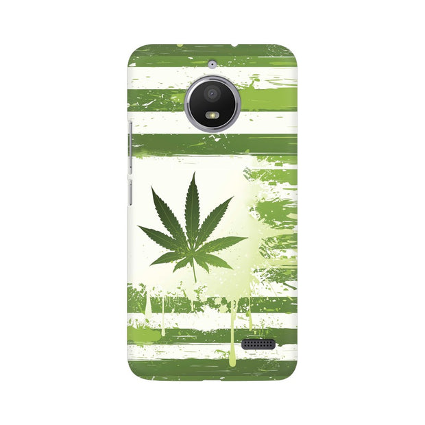 Moto E4 Weed Flag  Phone Cover & Case