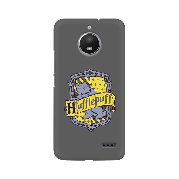 Moto E4 Hufflepuff House Crest Harry Potter Phone Cover & Case