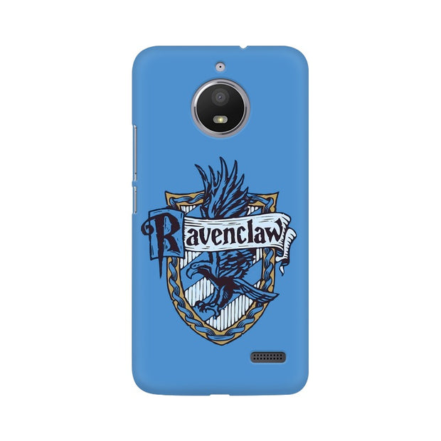 Moto E4 Ravenclaw House Crest Harry Potter Phone Cover & Case