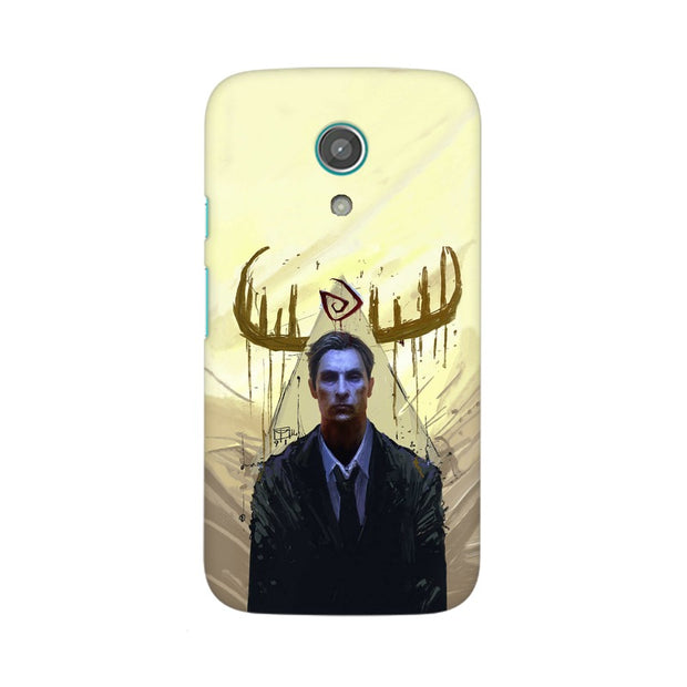 Moto G2 True Detective Rustin Fan Art Phone Cover & Case