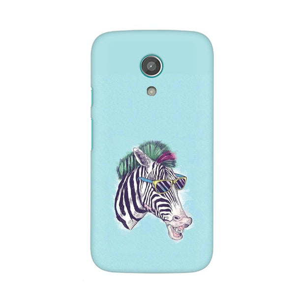 Moto G2 The Zebra Style Cool Phone Cover & Case
