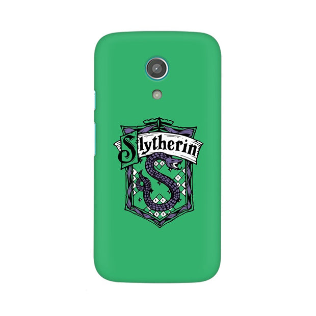 Moto G2 Slytherin House Crest Harry Potter Phone Cover & Case